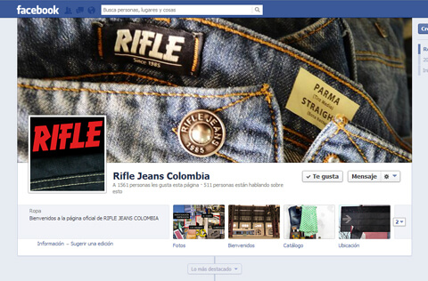Redes Sociales Rifle Jeans